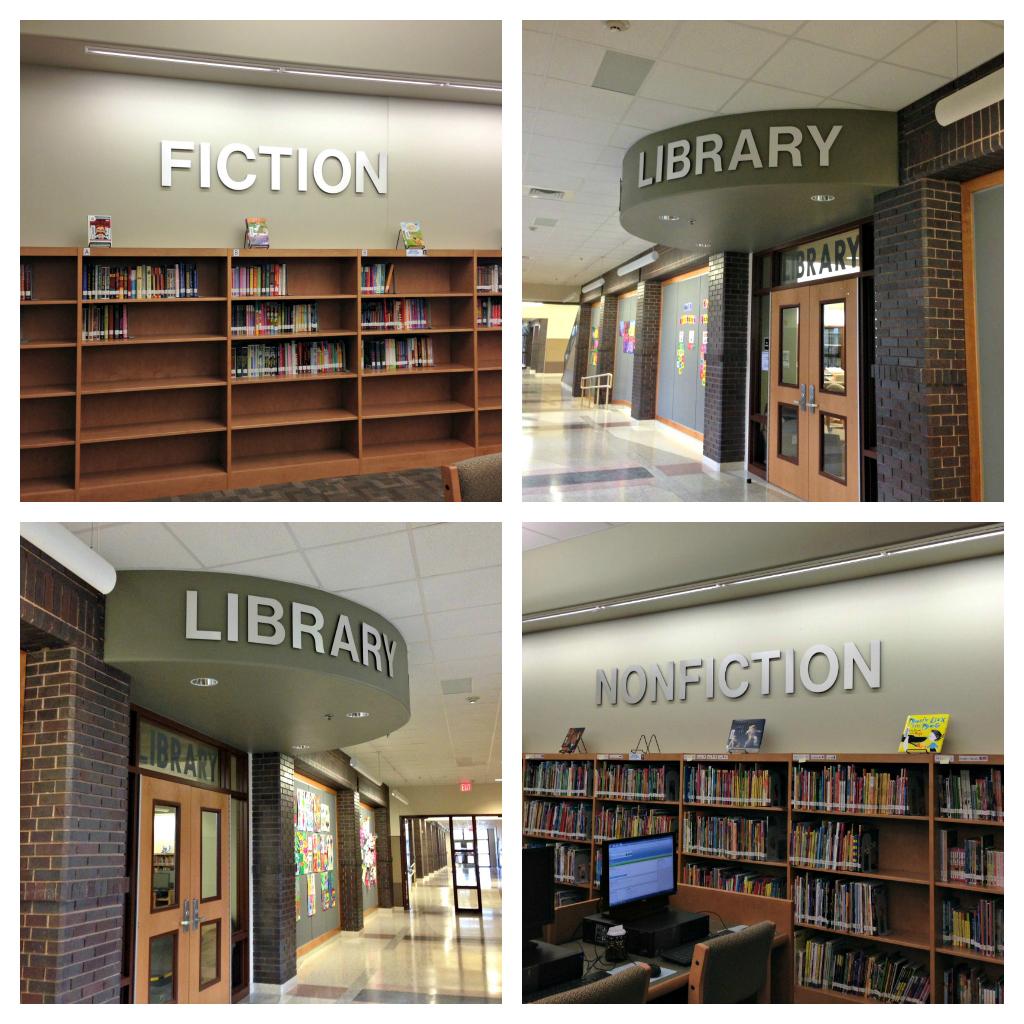 New School | England Elementary Library