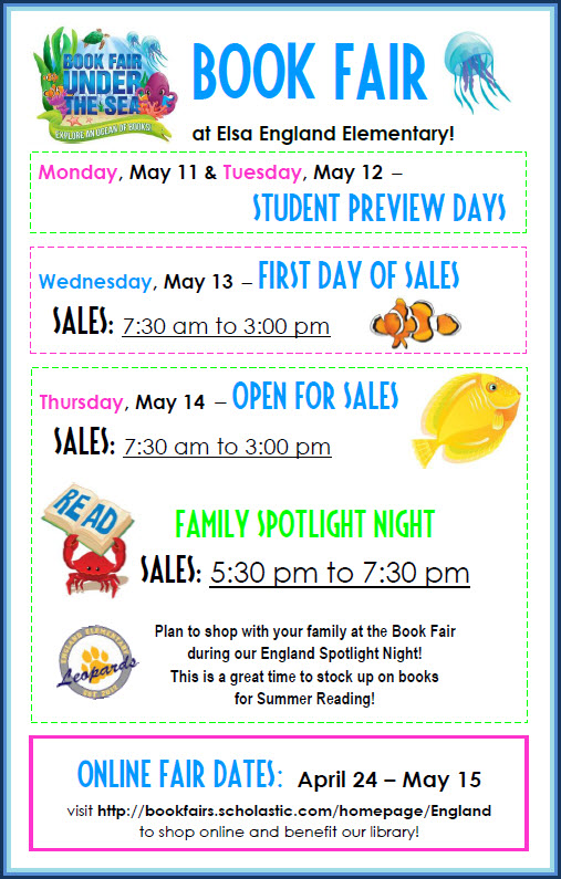 Book Fair May 2015 Digital Flyer