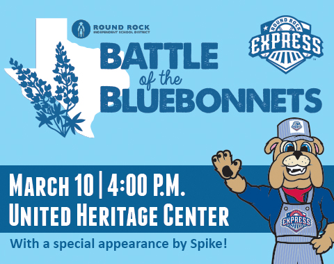 Battle of the Bluebonnets 2016 Logo