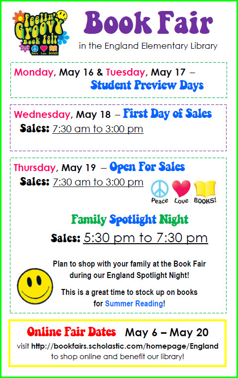 2016 May Book Fair Flyer